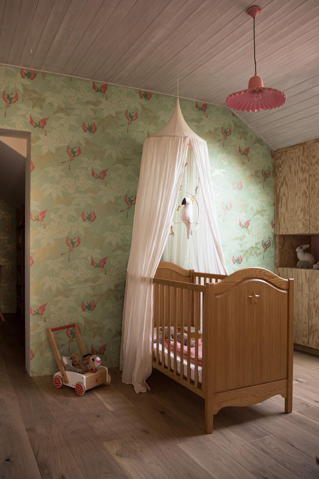 Lit Cabane Maman Louve la chambre de ninon, 24 mois - sunday grenadine